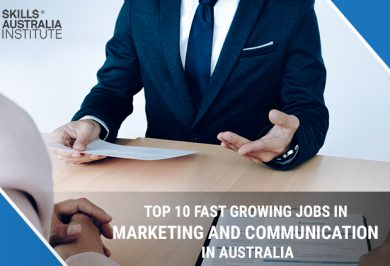 Top 10 Fast Growing Jobs in Marketing and Communication in Australia