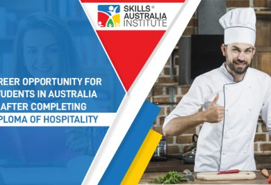 Career opportunity for students in Australia after completing Diploma of hospitality