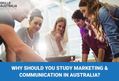 Why should you study Marketing & Communication in Australia?