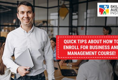 Quick Tips About How To Enroll For Business And Management Course!
