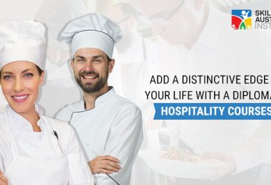 Add a distinctive edge to your life with a Diploma in Hospitality Courses