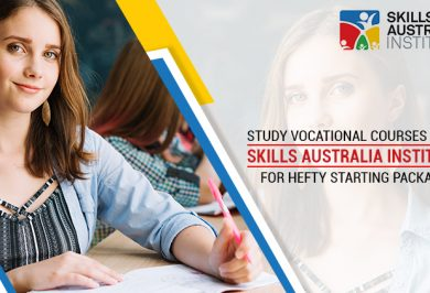 Study Vocational Courses With Skills Australia Institute For Hefty Starting Packages