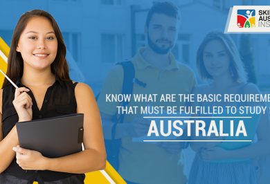 Know What Are The Basic Requirements That Must Be Fulfilled To Study In Australia?