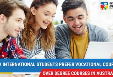 Why International Students prefer vocational courses over degree courses in Australia?
