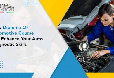 How Diploma Of Automotive Course Can Enhance Your Auto Diagnostic Skills?